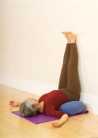 supported sarvangasana